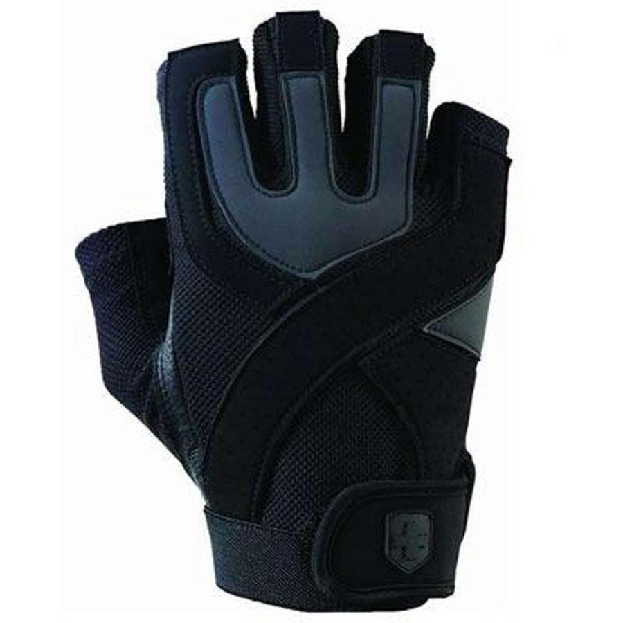 Černé fitness rukavice Harbinger - velikost S
