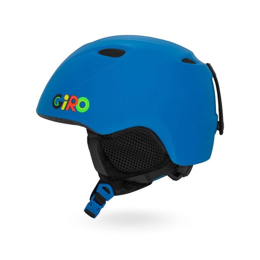 Modrá dětská helma na snowboard Giro - velikost M-L