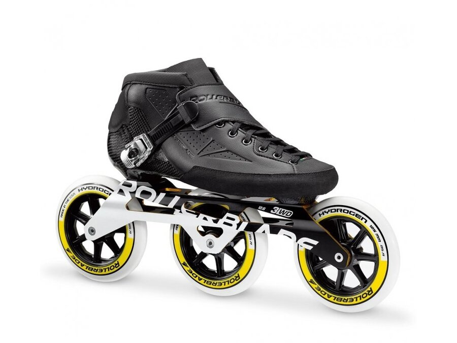Černé in-line kolečkové brusle Rollerblade - velikost 42,5 EU
