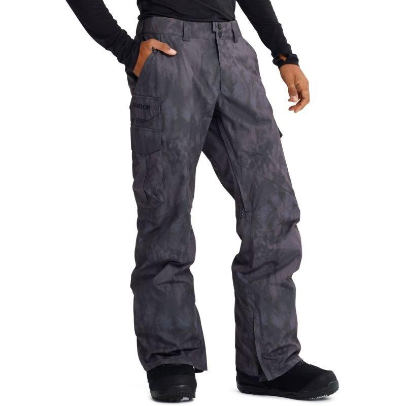 Šedé pánské snowboardové kalhoty Burton