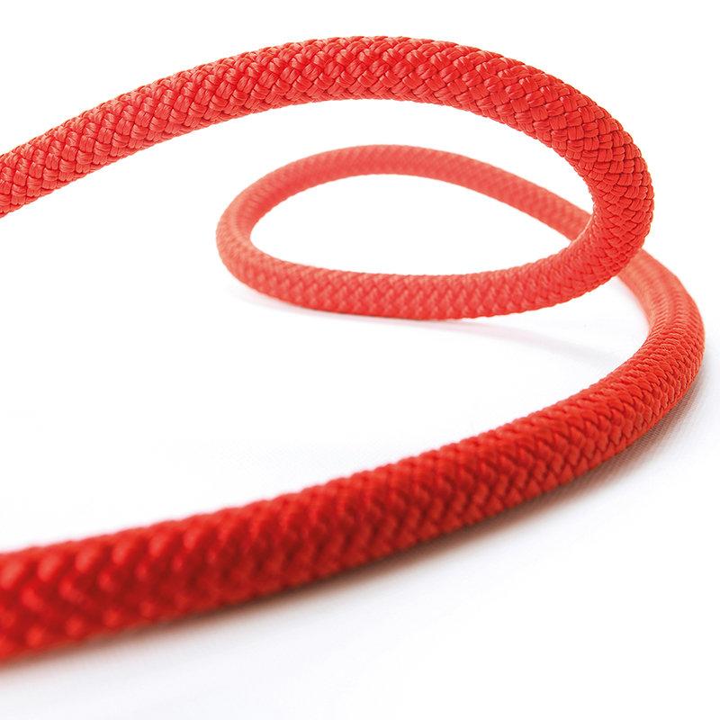 Červené horolezecké lano Beal - průměr 9 mm