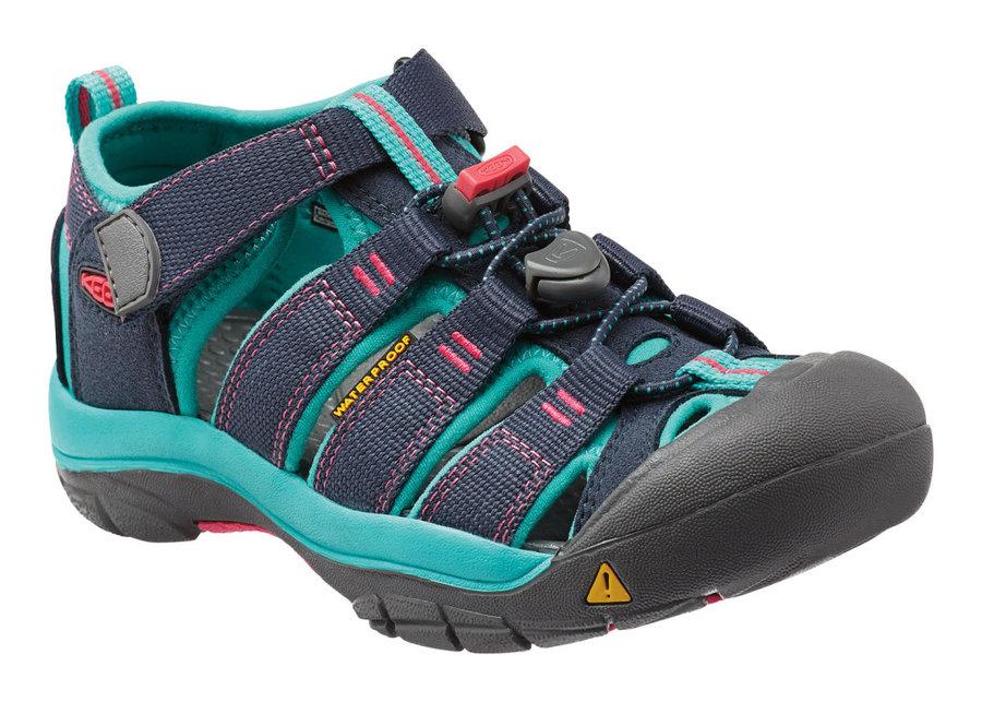 Modré dětské sandály Keen - velikost 36 EU