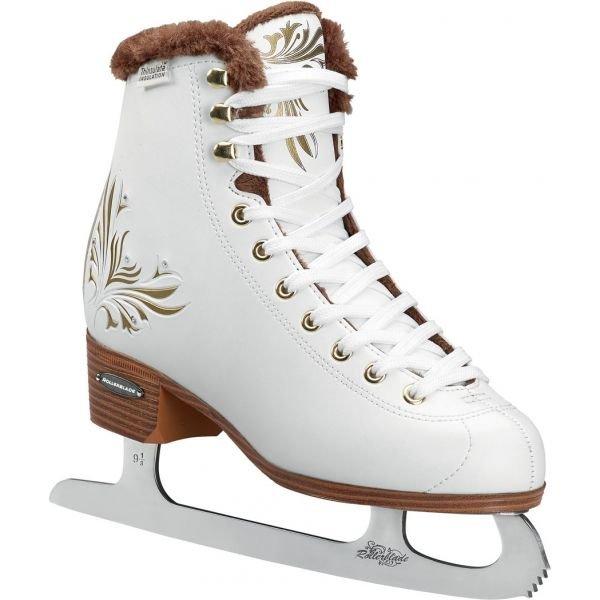 Bílé dámské lední brusle Rollerblade