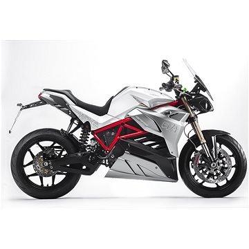 Bílá elektrická motorka Eva 107, Energica