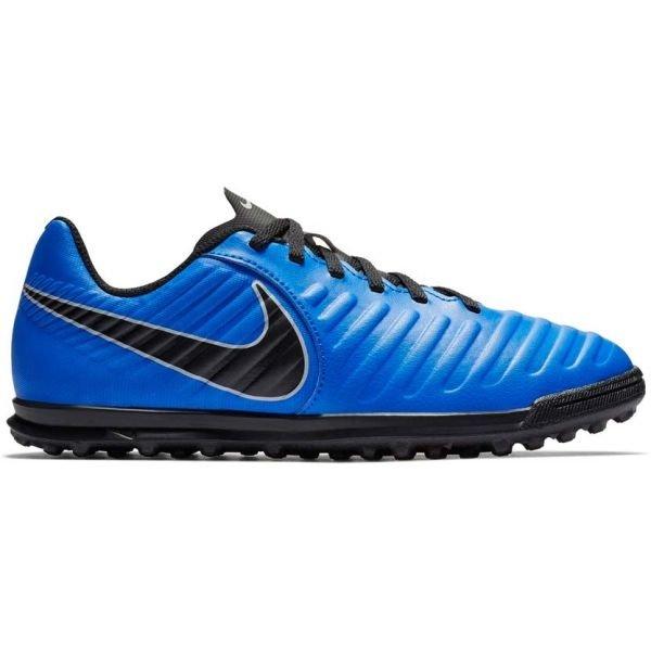 Modré dětské kopačky turfy Nike - velikost 38,5 EU