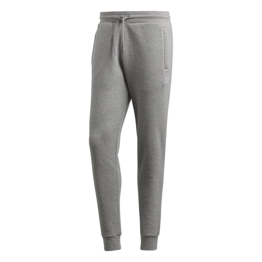 Šedé pánské kalhoty Adidas - velikost M