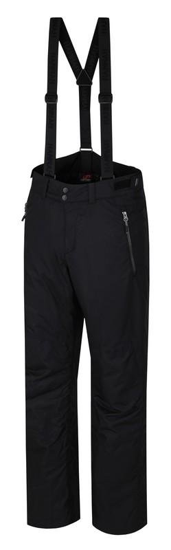 Černé pánské lyžařské kalhoty Hannah - velikost L