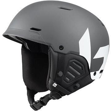 Šedá lyžařská helma Bollé