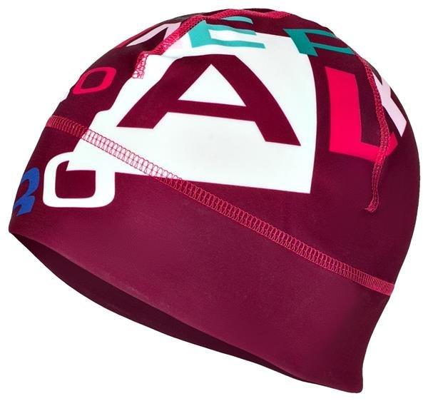 Červená běžecká čepice Alpine Pro - velikost S