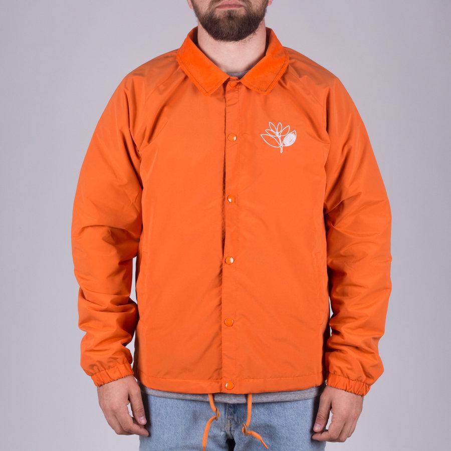Oranžová pánská bunda Magenta - velikost M