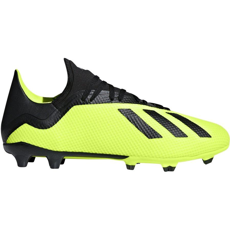 Černo-žluté kopačky lisovky X 18.3 FG, Adidas - velikost 42 EU