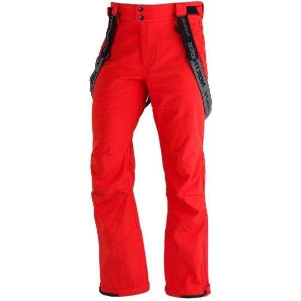 Červené pánské lyžařské kalhoty NorthFinder