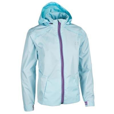 Modrá dívčí bunda na atletiku Kalenji