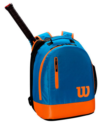 Tenisový batoh - Wilson Youth Backpack 2019 Blue/Orange