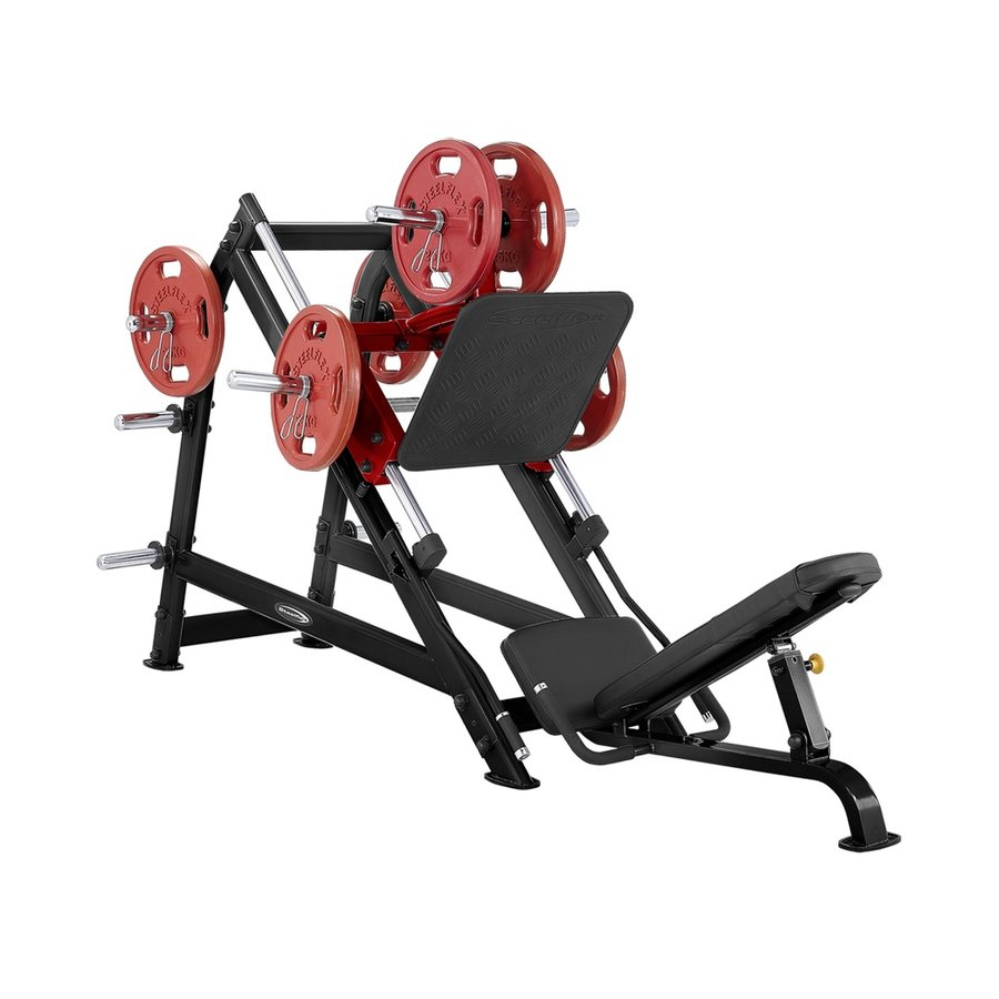 Posilovací stroj na nohy Steelflex - nosnost 120 kg