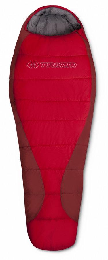 Červený spací pytel Trimm - délka 195 cm