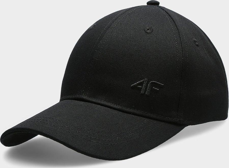 Černá dámská kšiltovka 4F