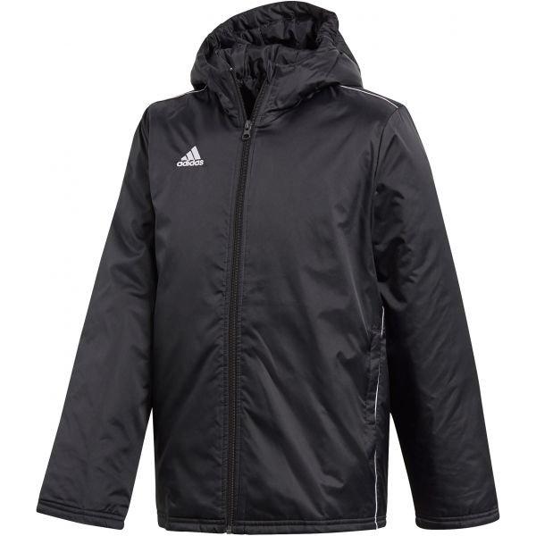 Černá chlapecká bunda Adidas