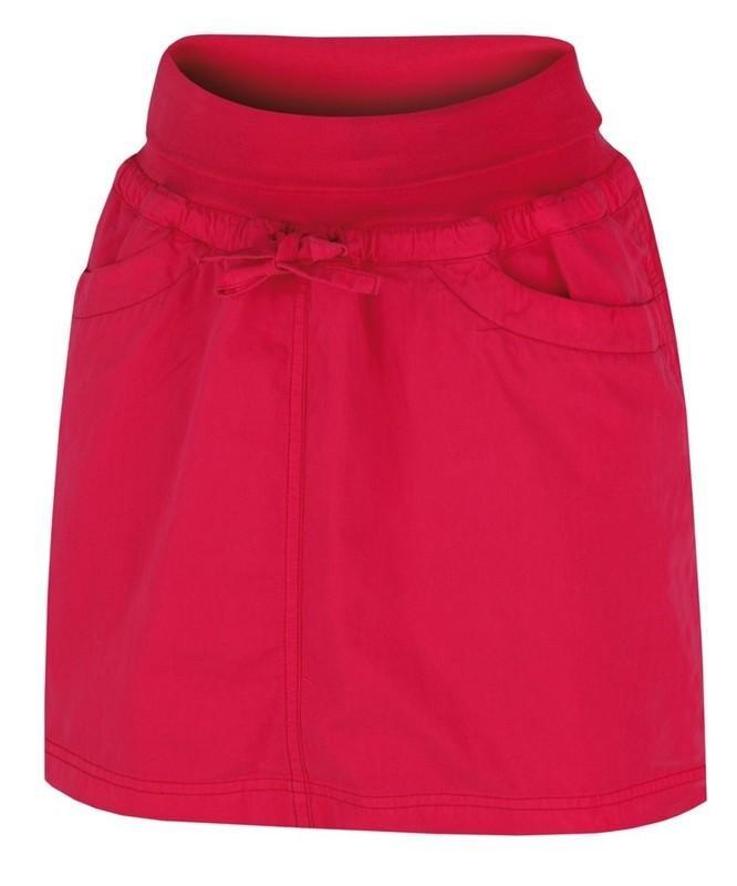 Červená dámská sukně Hannah - velikost 34