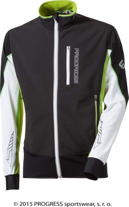Černá zimní pánská bunda Progress - velikost S