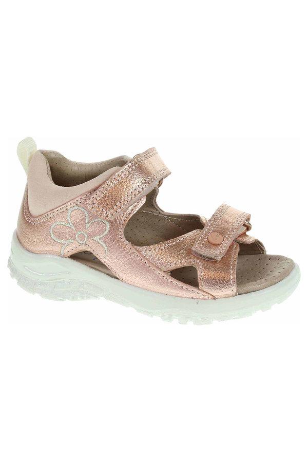 Růžové sandály Ecco