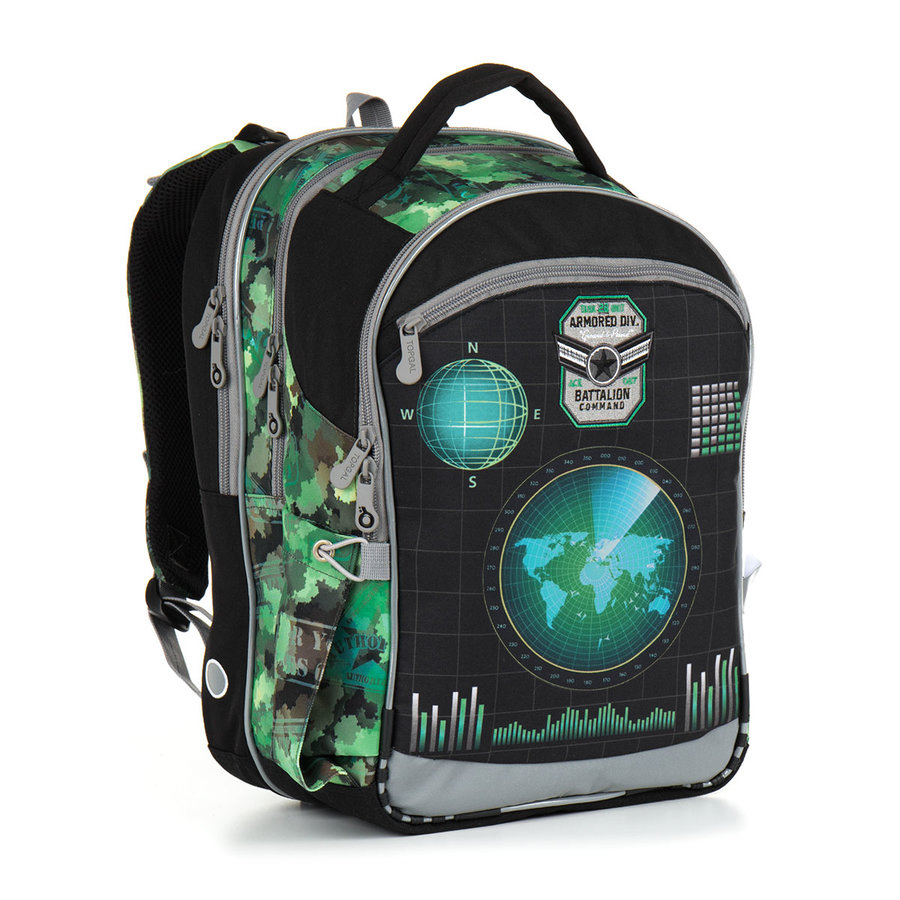 Batoh - Školní batoh Topgal CHI 883 E - Green