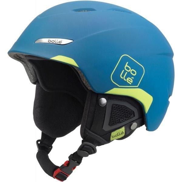 Modrá lyžařská helma Bollé - velikost 58-61 cm
