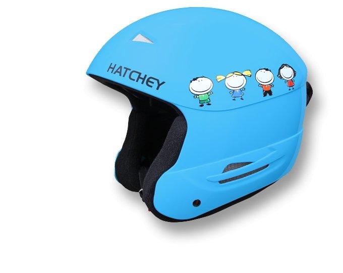 Modrá dětská lyžařská helma Hatchey - velikost S