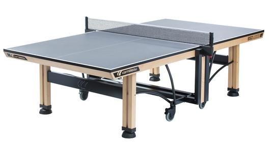 Šedý vnitřní stůl na stolní tenis ITTF Competition 850, Cornilleau