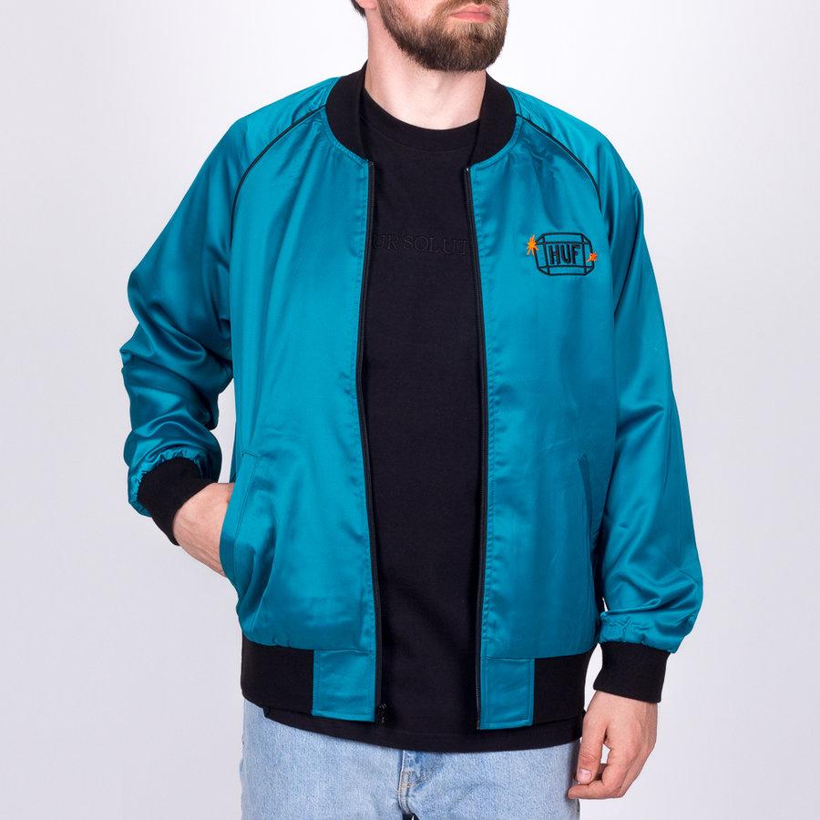 Modrá pánská bunda Huf - velikost M