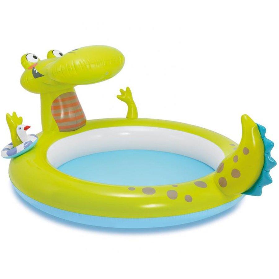 Nafukovací dětský oválný bazén INTEX - délka 198 cm, šířka 160 cm a výška 91 cm