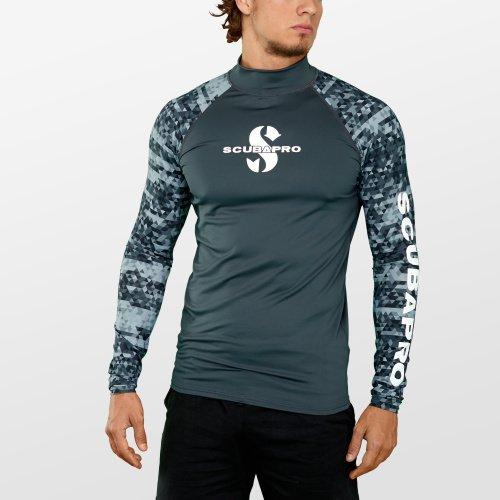 Pánské lycrové triko s dlouhým rukávem Graphite RG UPF 50, Scubapro - velikost S