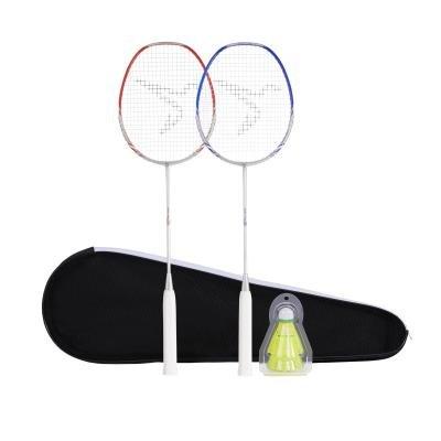 Sada na badminton - Perfly Sada Br190 Partner Červená