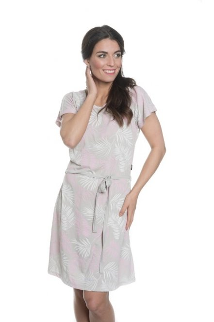 Šedé dámské šaty Sam 73