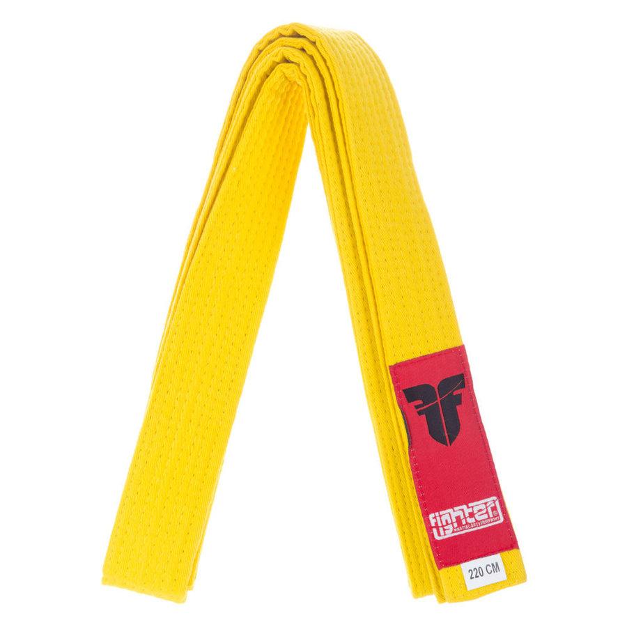 Žlutý judo pásek Fighter