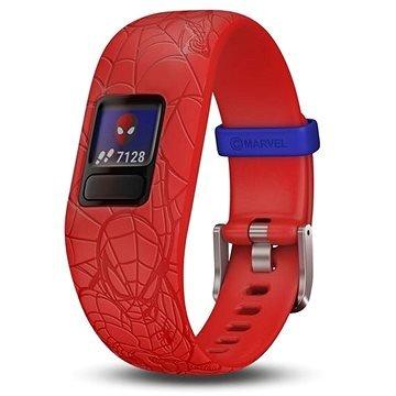 "Červený fitness náramek VivoFit Junior 2, ""Spider-Man"", Garmin"