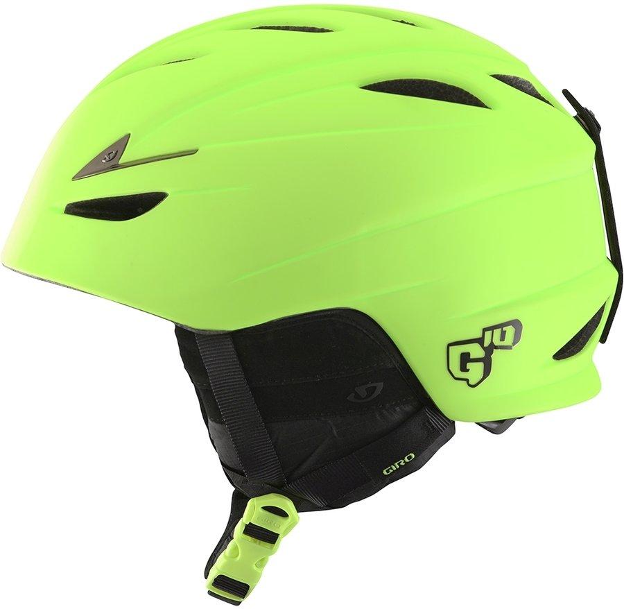 Žlutá pánská helma na snowboard Giro - velikost M