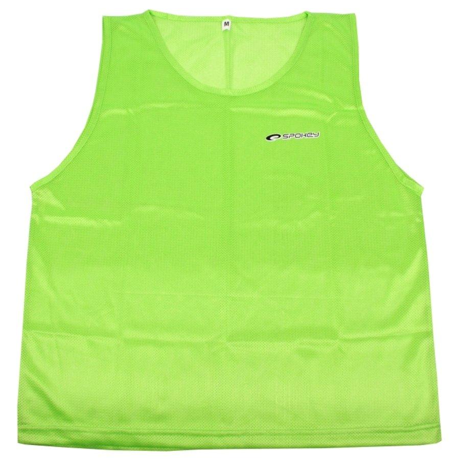 Zelený rozlišovací dres Spokey - velikost M