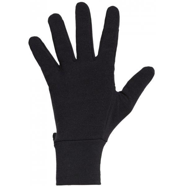 Černé zimní rukavice Icebreaker
