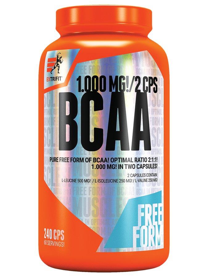 BCAA - EXTRIFIT BCAA Pure 2:1:1 240 kapslí
