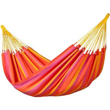 Houpací síť - La Siesta Sonrisa Single mandarine(4025122919333)