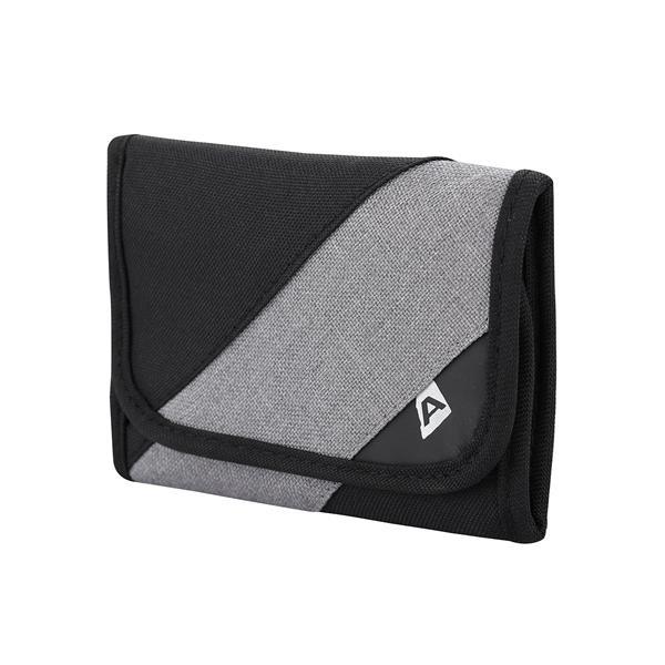 Černo-šedá peněženka Alpine Pro