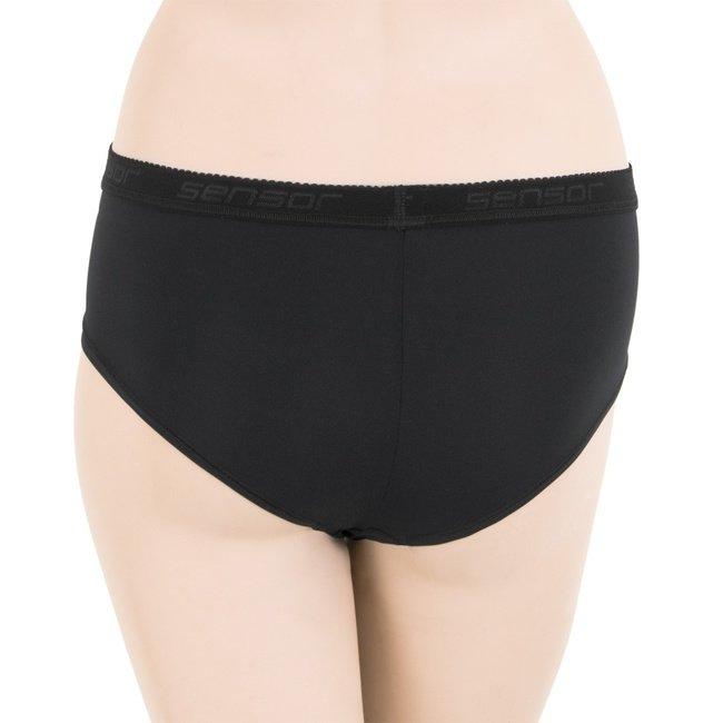 Černé dámské kalhotky Stella, Sensor - velikost M