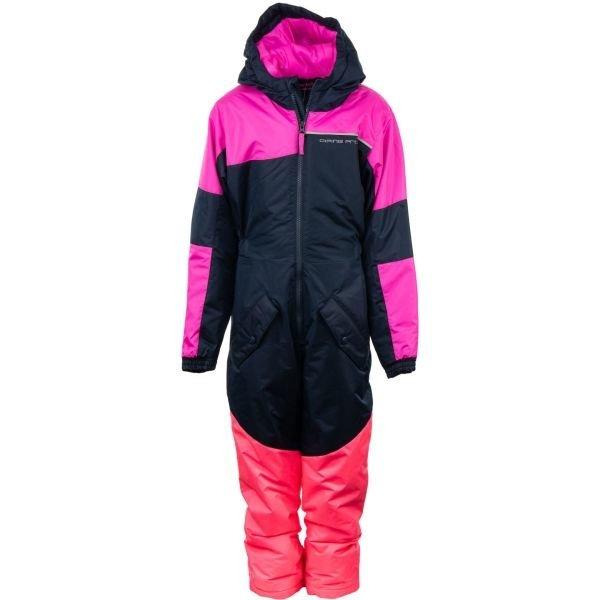 Růžový dívčí lyžařský komplet Alpine Pro - velikost 80-86