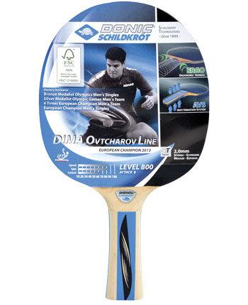Pálka na stolní tenis Ovtcharov 800 FSC, Donic