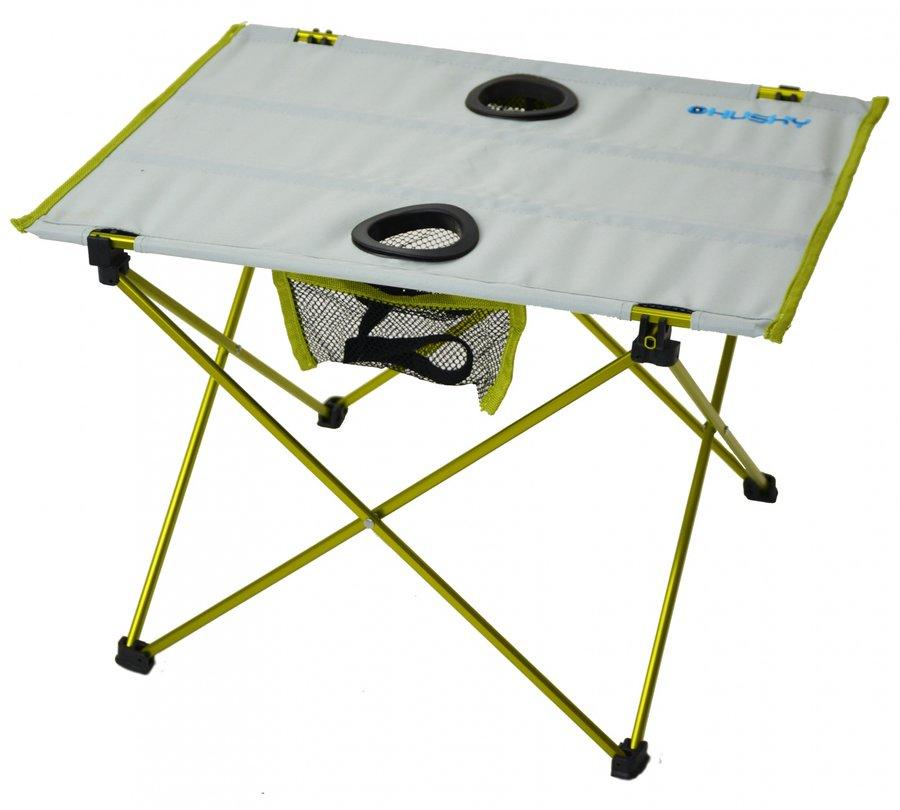 Rozkládací kempingový stůl Husky - délka 57 cm, šířka 42 cm a výška 38 cm