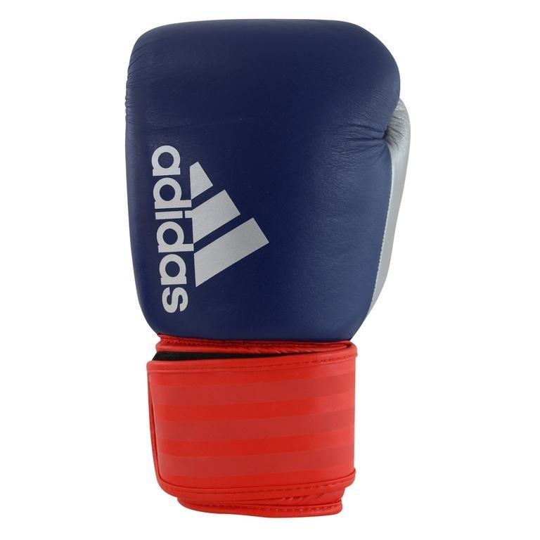 Červeno-modré boxerské rukavice Adidas