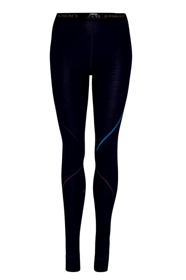 Černé dámské funkční kalhoty Alpine Pro - velikost XL-XXL