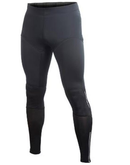 Dlouhé zimní pánské cyklistické kalhoty Craft - velikost M