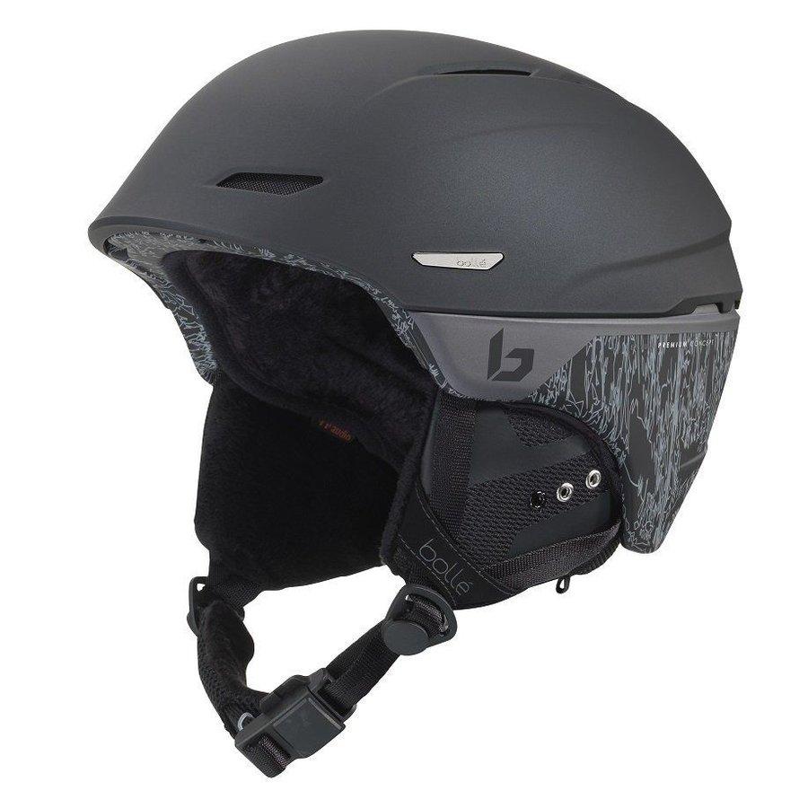 Černá dámská lyžařská helma Bollé - velikost 58-61 cm